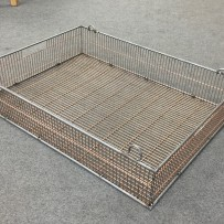 Prototype conveyor baskets