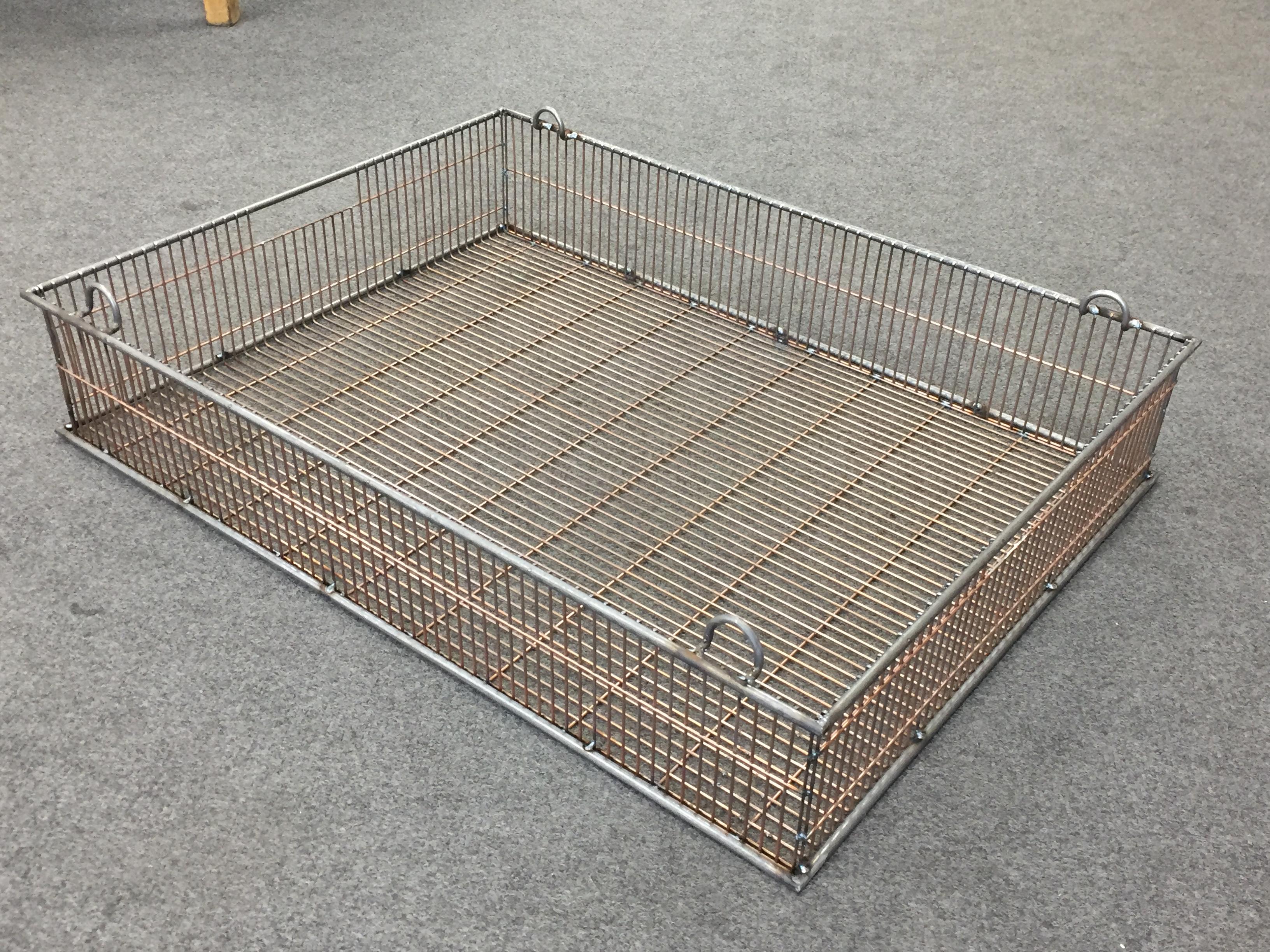 Prototype conveyor baskets